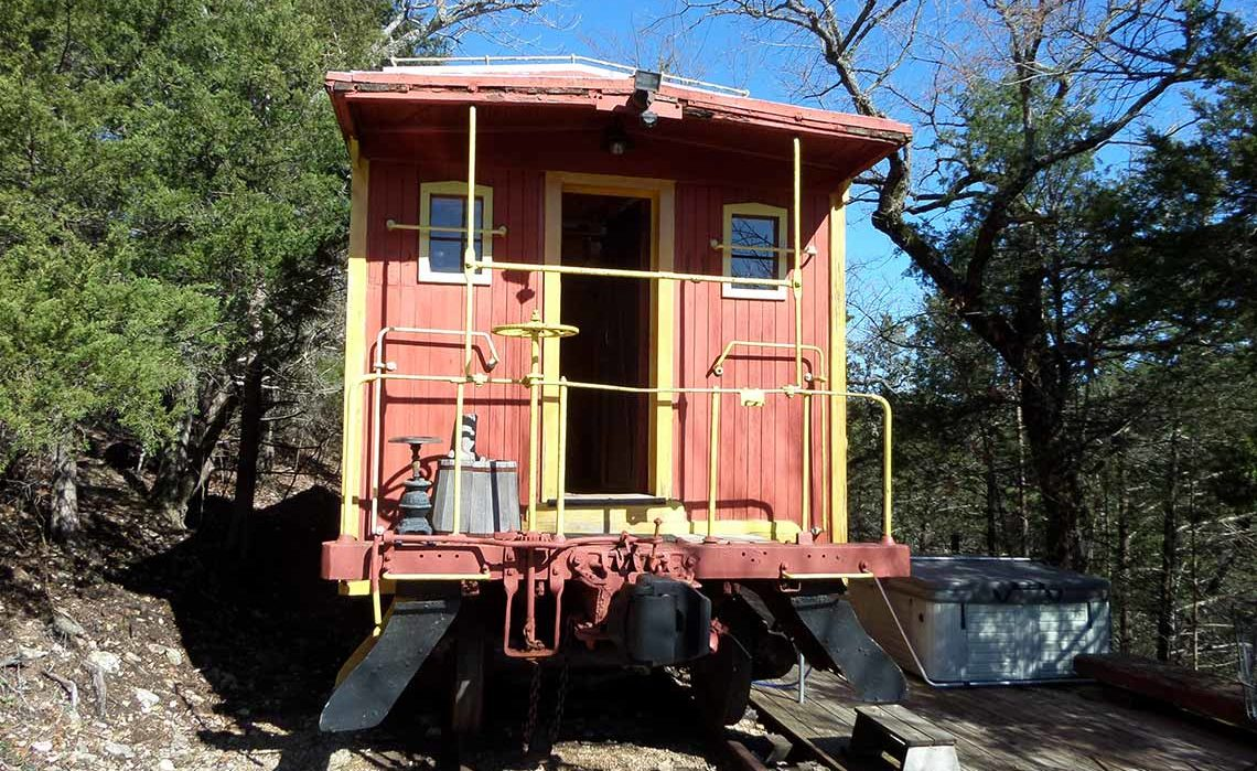 Livingston Junction Cabooses: Caboose 103 Old West Theme