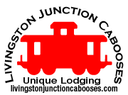 Livingston Junction Cabooses